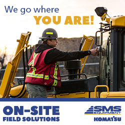 We go where YOU ARE! On-site field solutions | SMS Equipment