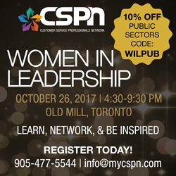 Women in Leadership | October 26, 4:30-9:30 PM | Old Mill, Toronto